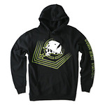Metal-Mulisha-CHECK-POINT-Fleece-pullover-malli-Musta-L