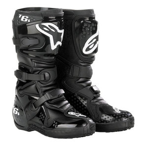 38-40054 | Alpinestars Tech 6 S Junior crossisaappaat musta 8=42