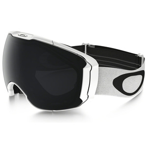 40-02868 | Oakley Airbrake XL ajolasit Polished White Dark Grey & Persimmon