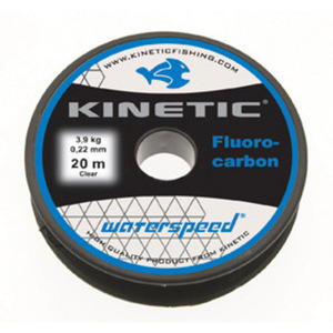 54-8681 | Kinetic Waterspeed fluorocarbon perukesiima 0,60 mm 20 m