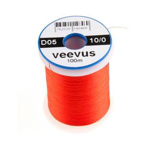 55-00222 | Veevus 10/0 hot orange sidontalanka