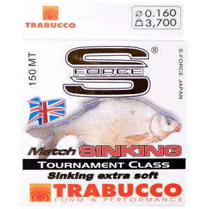 56-5625 | Trabucco S-Force Match Sinking monofiilisiima 0,25mm 150m