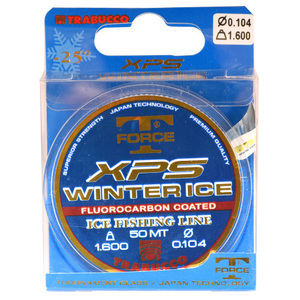 56-6898 | Trabucco T-Force XPS Winter Ice pilkkisiima 0,16mm 50m