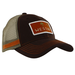56-7272 | Westin Hillbilly Trucker Cap One Size Grizzly Brown