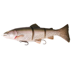 56-7655 | Savage Gear 3D Trout Line Thru haukiviehe Slow sink 15cm/35g Rainbow
