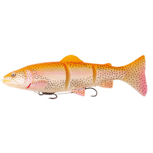 56-7659 | Savage Gear 3D Trout Line Thru haukiviehe Moderate Sink 15cm/40g Golden Albino