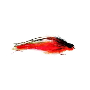 56-8557 | Fulling Mill haukiperho Andino Deceiver Orange/Black 6/0 1kpl