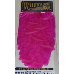 56-9433 | Whiting American Hen Saddle magenta