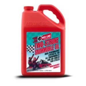 59-3131 | Red Line Two-Stroke Snowmobile Oil 3,78l kelkka