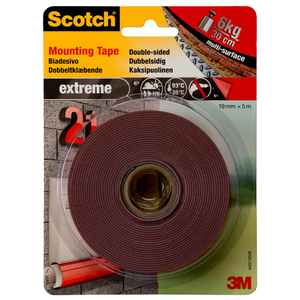 60-0710 | Scotch® Asennusteippi harmaa 19 mm x 5 m