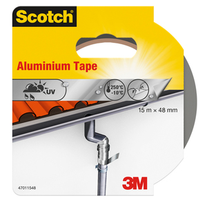 60-0728 | Scotch® Alumiiniteippi 15 m x 48 mm