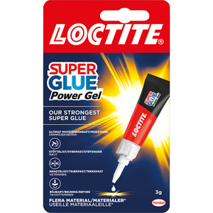 60-6103 | LOCTITE Super Glue Flex Gel pikaliima 3g
