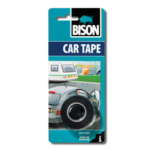 60-6278 | Bison Car Tape kaksipuolinen teippi 1,5 m x 19 mm