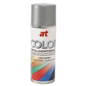 60-9428 | AT-Color Metallihohtomaali hopea 400 ml