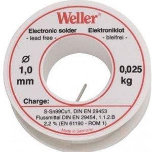 80-6767 | Weller® EL99 juotostina 1,0 mm 25 g