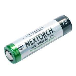 90-00310 | Nextorch 18650 litiumakku 2600mAh