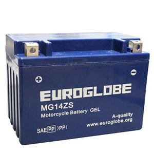"90-0052 | Euroglobe GEL-akku 12V 11,2Ah ""MG14ZS"" (P150xL87xK110mm)"