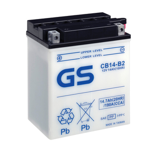 "90-0622 | GS MP-akku 12V 14Ah ""CB14-B2/YB14-B2"""